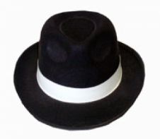 Gangster Hat (Black)
